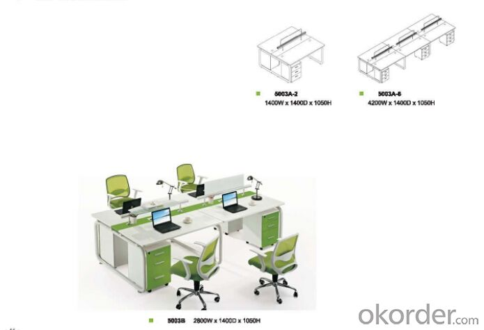 Office Table/Commerical Desk Solid Wood/MDF/Glass with Best Price CN30331