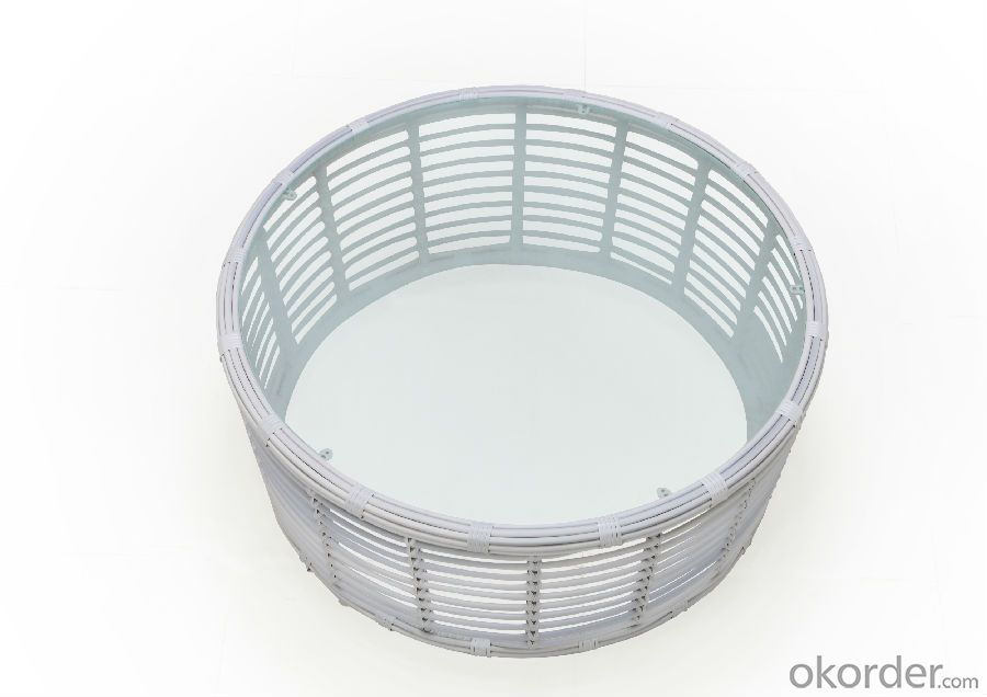 Round Rattan High Back Outdoor Sofa Set   CMAX-SS005LJY