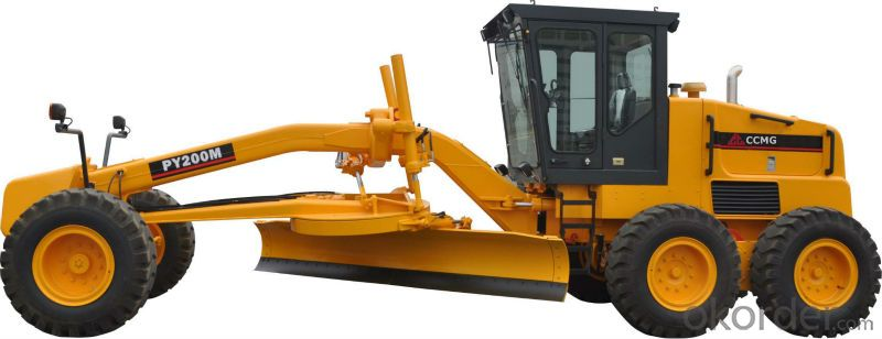 Motor Grader of PY200M  with CE ISO Certificate