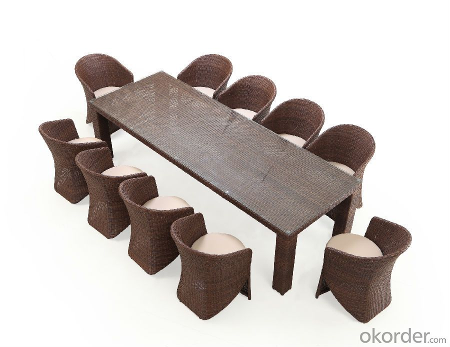 Outdoor Dinning Set 10 Persons set CMAX-DC009LJY