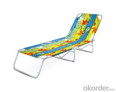 Texitilene Folding Sun Lounger Beach Bed