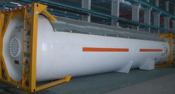 40FT Steel Tank Container for Transporting Oil and Gas