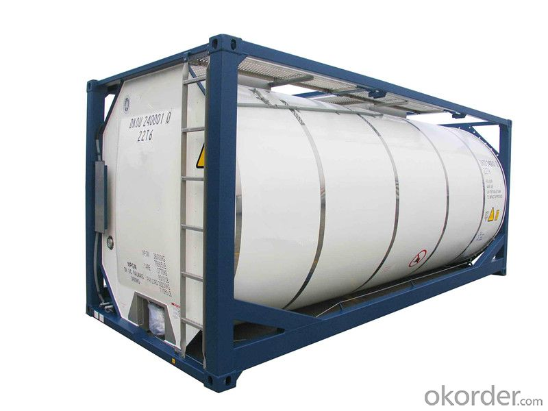 Chemical Tank Storage Container for Transporting Fuel and Gas
