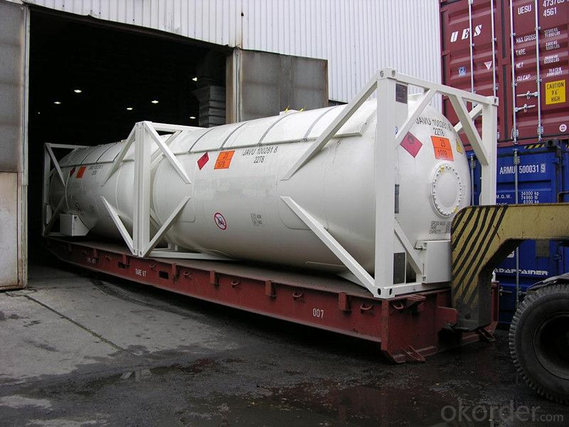 20FT Steel Tank Container for Storing Oil and Gas