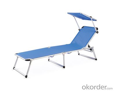 Textilene Beach Lounger,for Outdoor Relaxing: