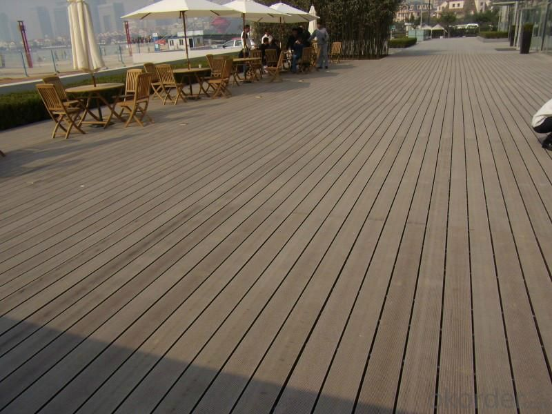 Wpc outdoor diy deck/wpc composite diy boardwalk deck