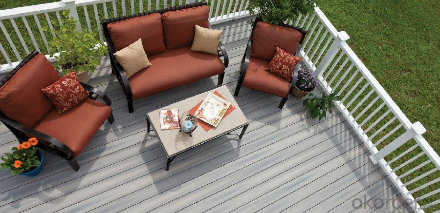 WPC decking/Interlocking wpc outdoor decking tiles (CE RoHS)