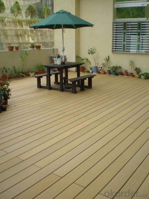 WPC Decking Engineered Flooring Outdoor Wood Plastic Composite