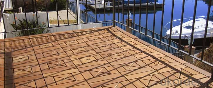 WPC decking/factory price for wpc deck - new design, interlock, fire-resistance