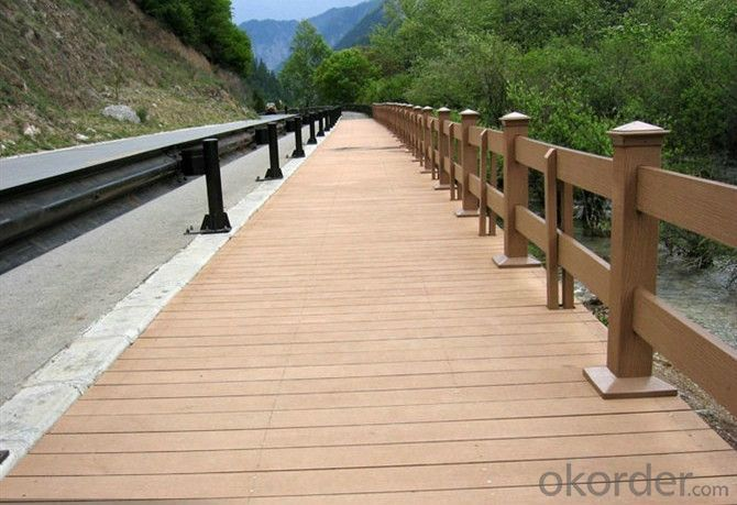 High Quality WPC Co-extrusion Decking Past CE