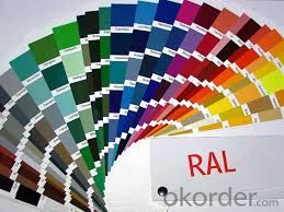 Pre-Painted Color Coated Galvanized Steel Coils JIS G3312-2012