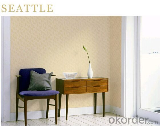 PVC Wallpaper S008 Natural Vinyl Wallpaper Washable for Kitchen