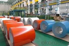 Prepainted Cold Rolled Galvanized Steel Sheet Coil JIS G3312-2012