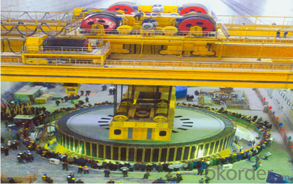 Hydropower Plant Professional Overhead Traveling Crane