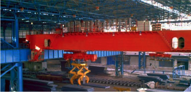 QC Model 5-32/5t Electromagnetic Overhead Crane