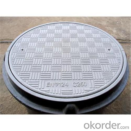 Manhole Cover Ductile Cast Iron China on Hot Sale Heavy Telecom Sew