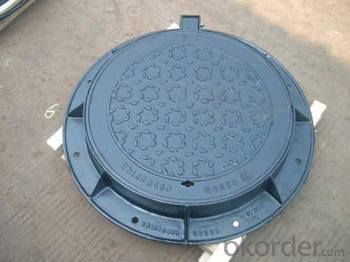 Manhole Cover Ductile Cast Iron on Hot Sale Heavy Medium  Telecom Sew