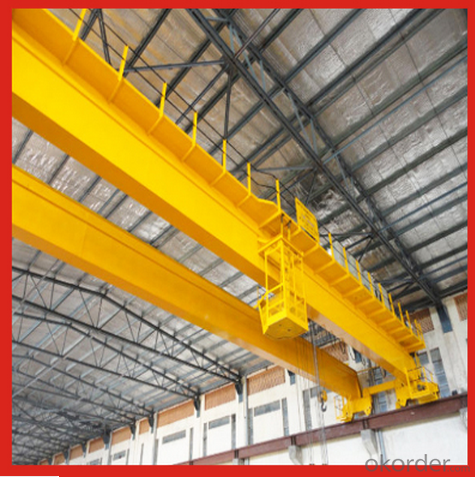 5t Electromagnetic Overhead Crane with Auxiliary Hook