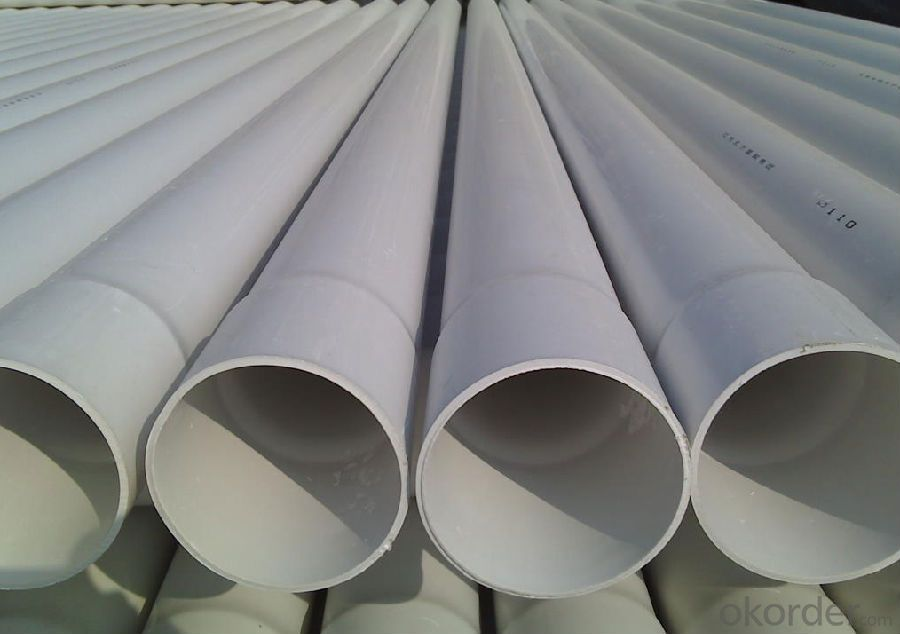 PVC Tubes UPVC Drainage Pipes Made in China with Good Quality