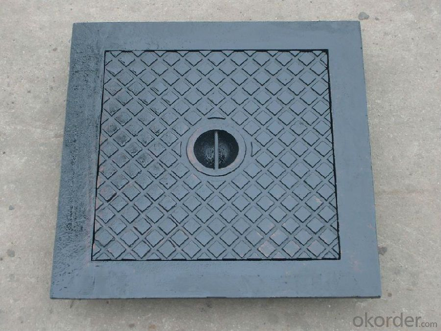 Manhole Cover Ductile Cast Iron on Sale China Heavy Telecom Sew