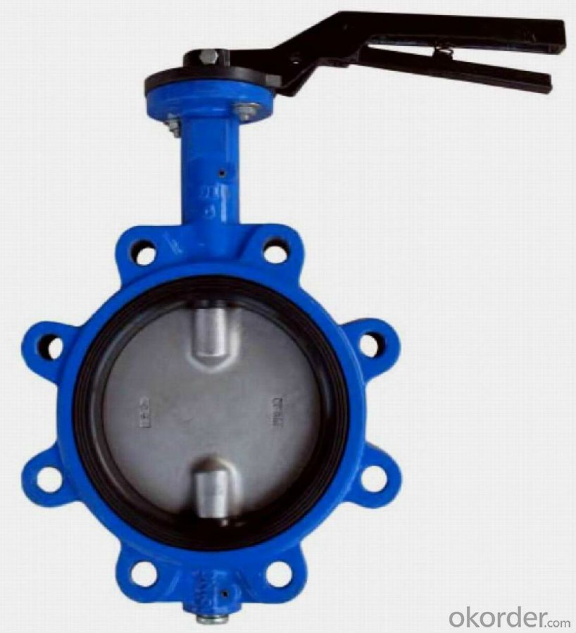 Butterfly Valve,Ductile Iron Wafer Butterfly Valve