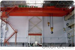 Explosion proof double beam overhead crane with many safety features