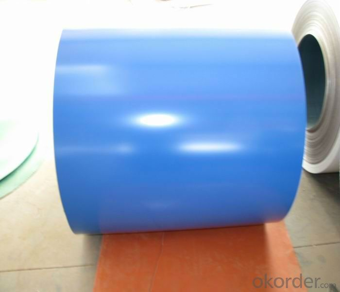 PPGI Roofing Sheets/Color coated sheet coil ID508mm