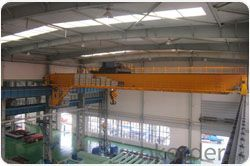 Europe style double girder overhead crane manufacture