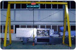 High quality single beam portable gantry crane
