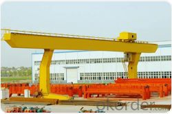 L leg heavy duty  gantry crane with electric crab