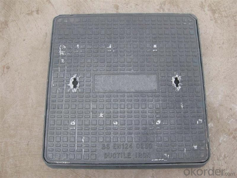 Manhole Cover EV124/480 Made in China on  Sale Black