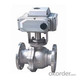 Ball vavle /Api 2pc flanged ball valve Made in China