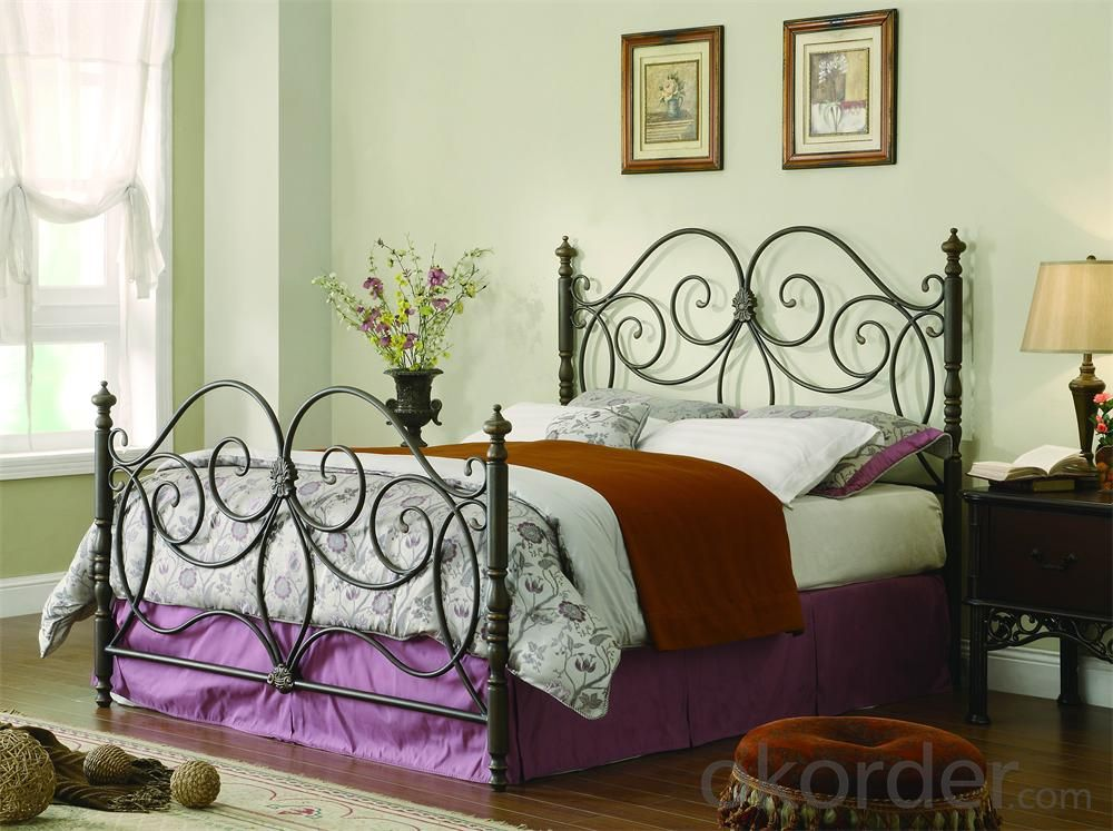Metal Single Bed with Modern design Hot Sale MB305