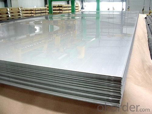 Stainless Steel Sheet 3mm Thickness with No.4 Surface Treatment