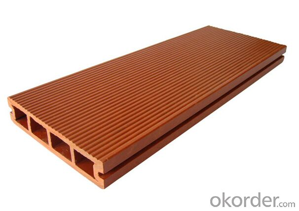 Rubber Wood Floor Decking with factory price