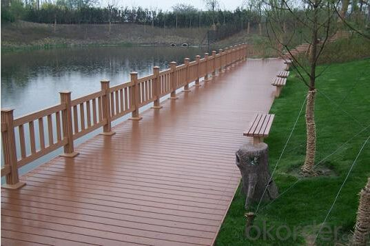 Composite timber decking Eco-freindly and waterproof