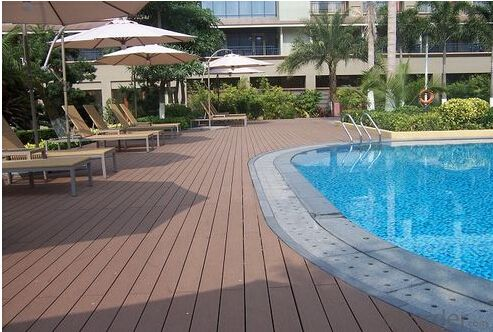 Solid Wood Decking made in China with high quality