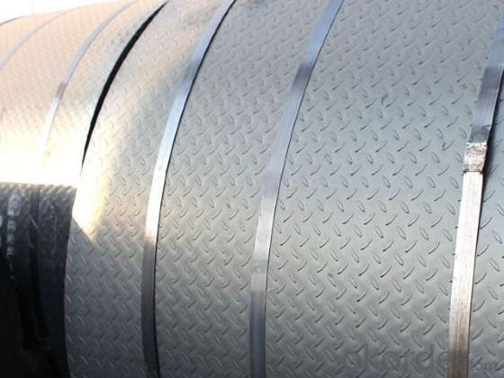 Hot Rolled Checkered Steel Coil- High Technology