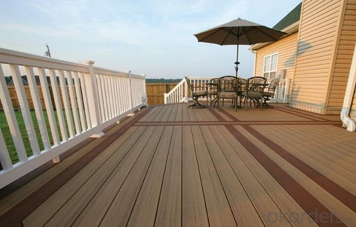Cheap Composite Decking with CE passed from China