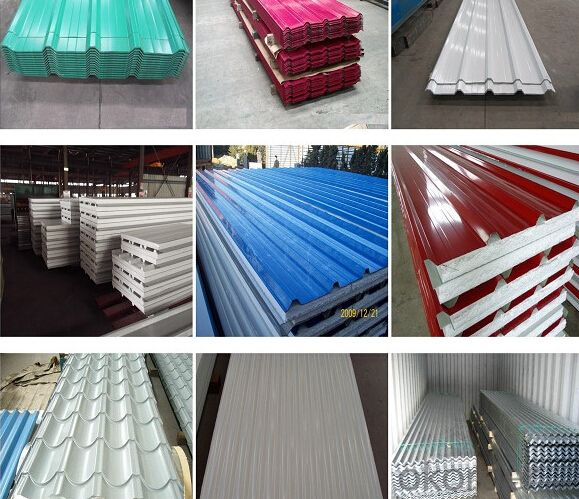 Prepainted Rolled Steel Coil for Roofing Steel