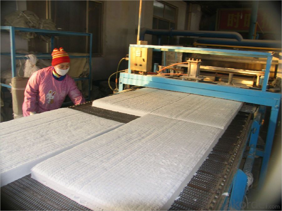 Heat Insulation Ceramic Fiber Blanket For Industrial Furnaces
