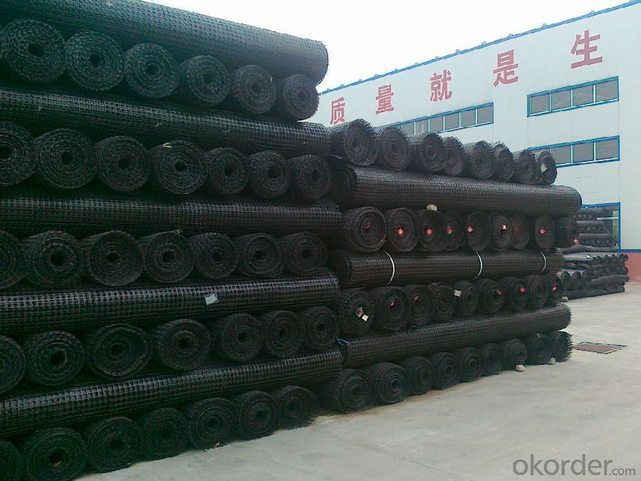 PP Geogrid for Road Construction with CE Certificate