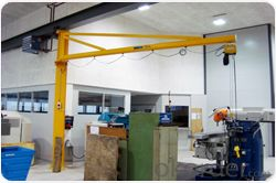 360 degree slewing arm pillar Jib Crane