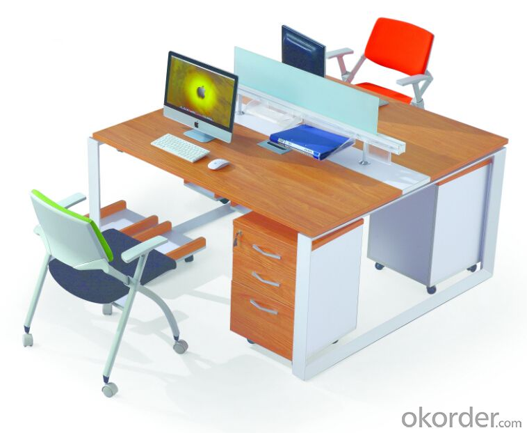 Office Desk Commerical Table MDF/Glass with Low Price 3030