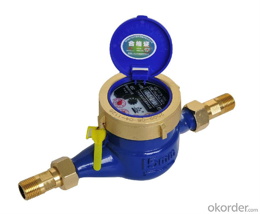 Water Meter IP69 Dry Dial RF Card Prepaid from China with Good Quality
