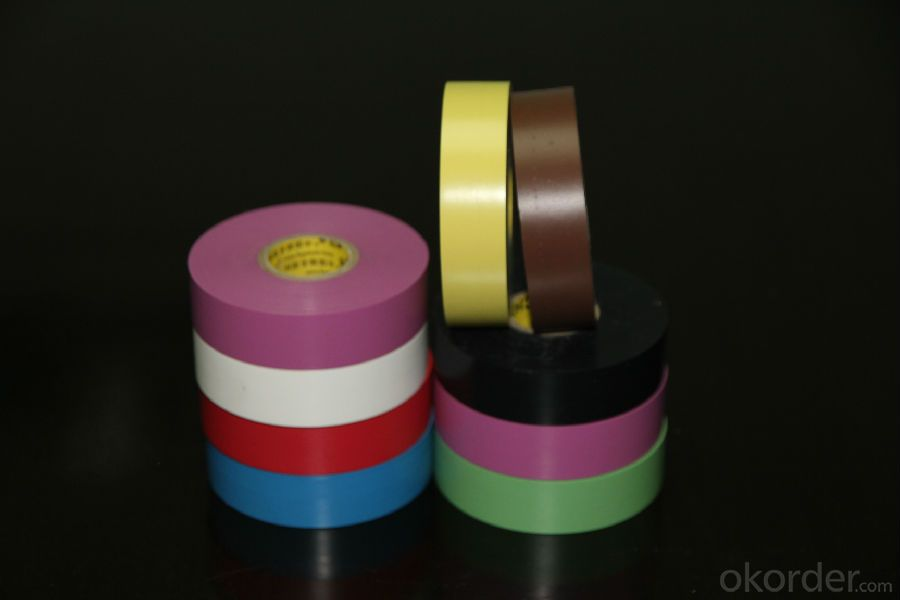 PVC Tape High Quality Backing Packaging Knife-free Embossed Tape