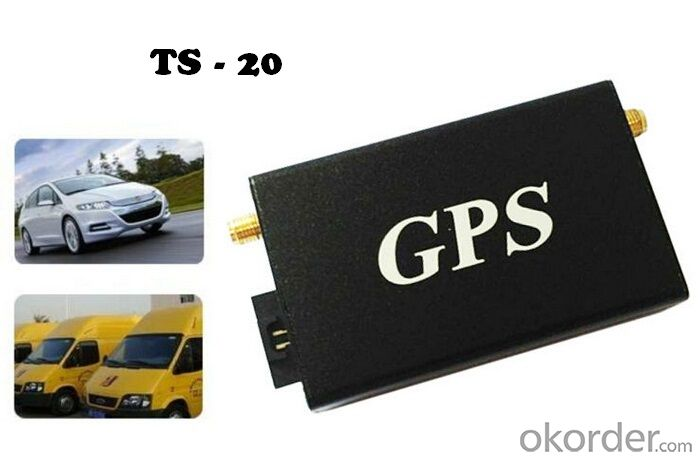 Basic Car/Fleet GPS Tracker TS-20 with SOS Alarm, Voice Monitor, Engine Cut Off and Android APP
