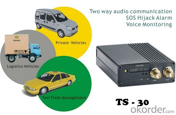 Most Stable Truck GPS Tracker TS-30 for Car/Truck/Vehicle/Lorry/Delivery/Bus/Taxi/Fleet