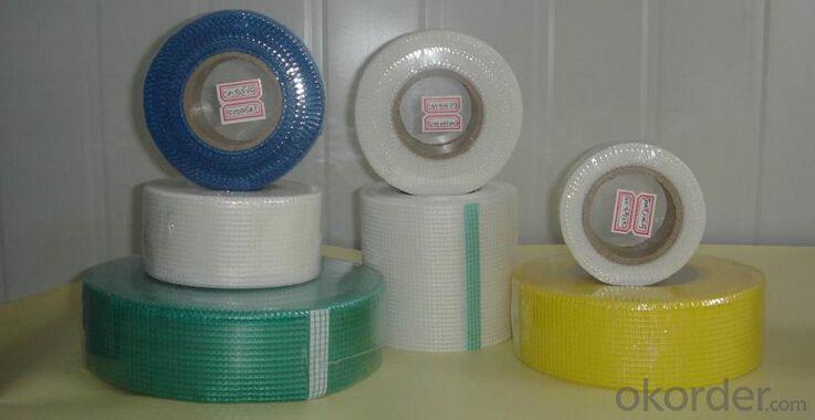 Fiberglass Self-adhesive Mesh Tape Holes Covering Waterproof