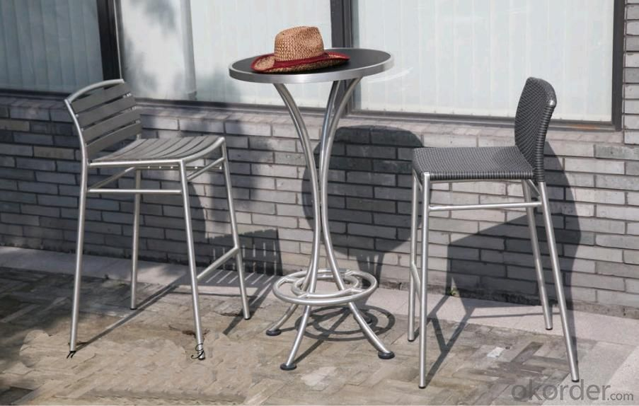 Funiture Outdoor Coffee Table set  with PS plastic and polymerization